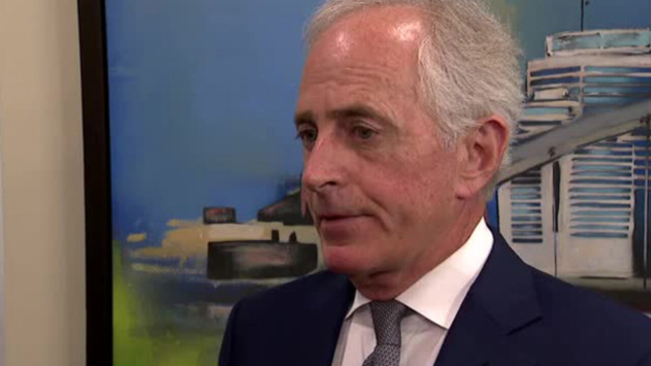 Sen. Bob Corker discusses hot topics