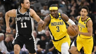 Pacers Spurs Basketball