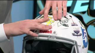 Friday Football Fever - Helmet Stickers (Week 8)