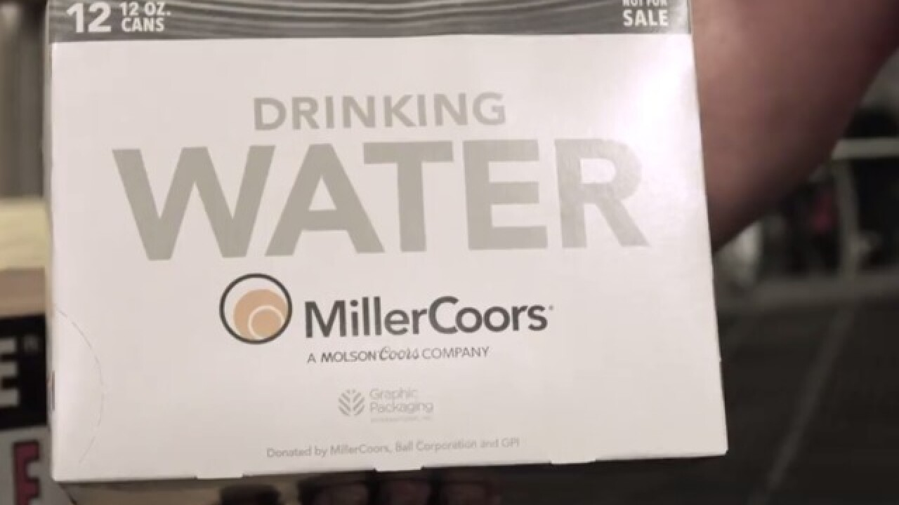 MillerCoors delivers 50,000 water cans to families devastated in California wildfires