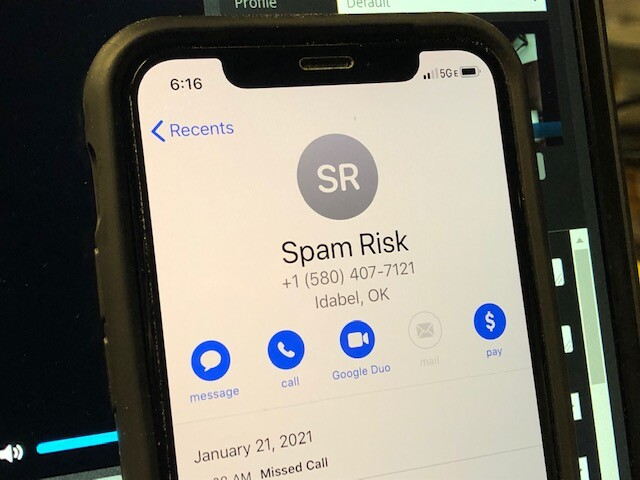 Spam Risk