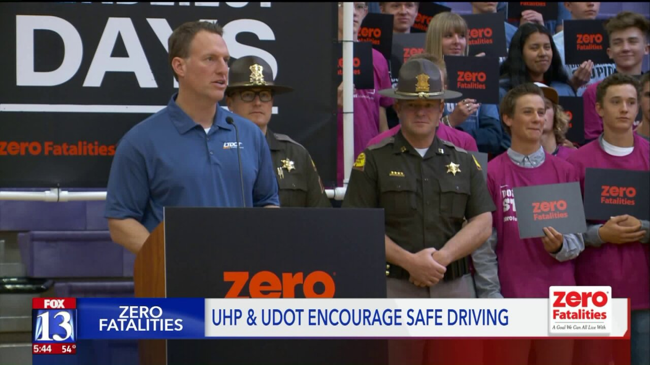 Teens commit to safe driving during '100 deadliest days' in Utah
