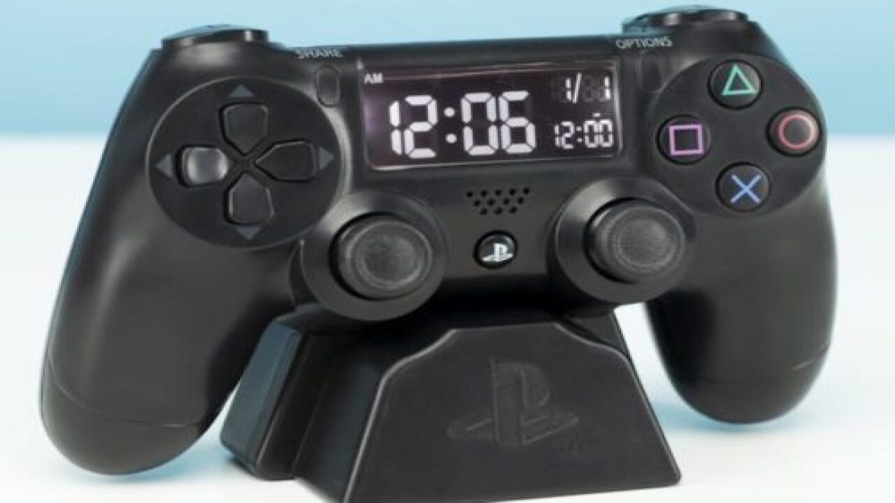 This Playstation Alarm Clock Is A Perfect Gift For The Gamer In Your Life