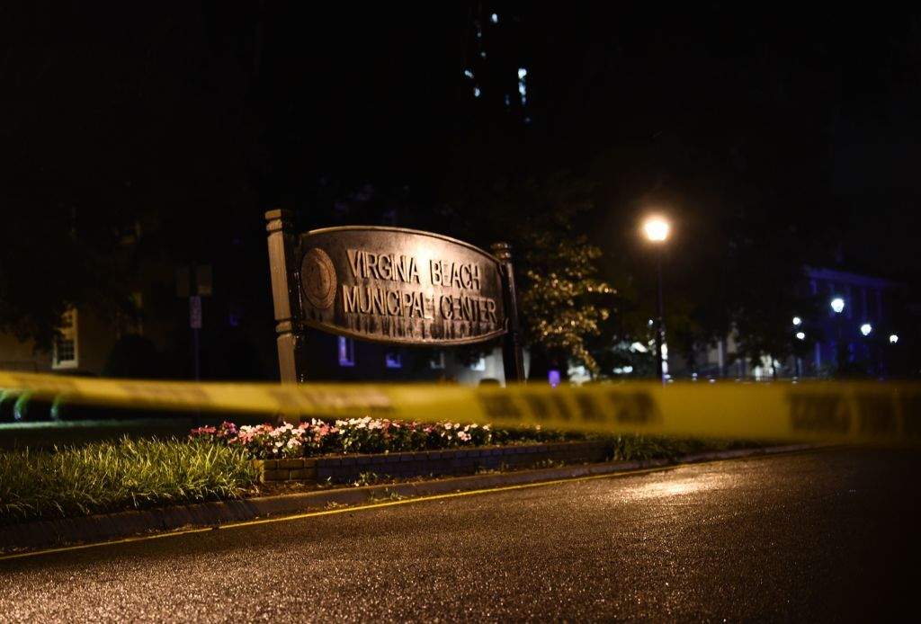 Photos: At least 12 killed, officer among 4 injured in 'devastating' shooting at Virginia Beach Municipal Center