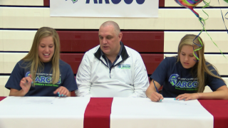 Helena High's Paige and Payton Aasved to play for University of Providence