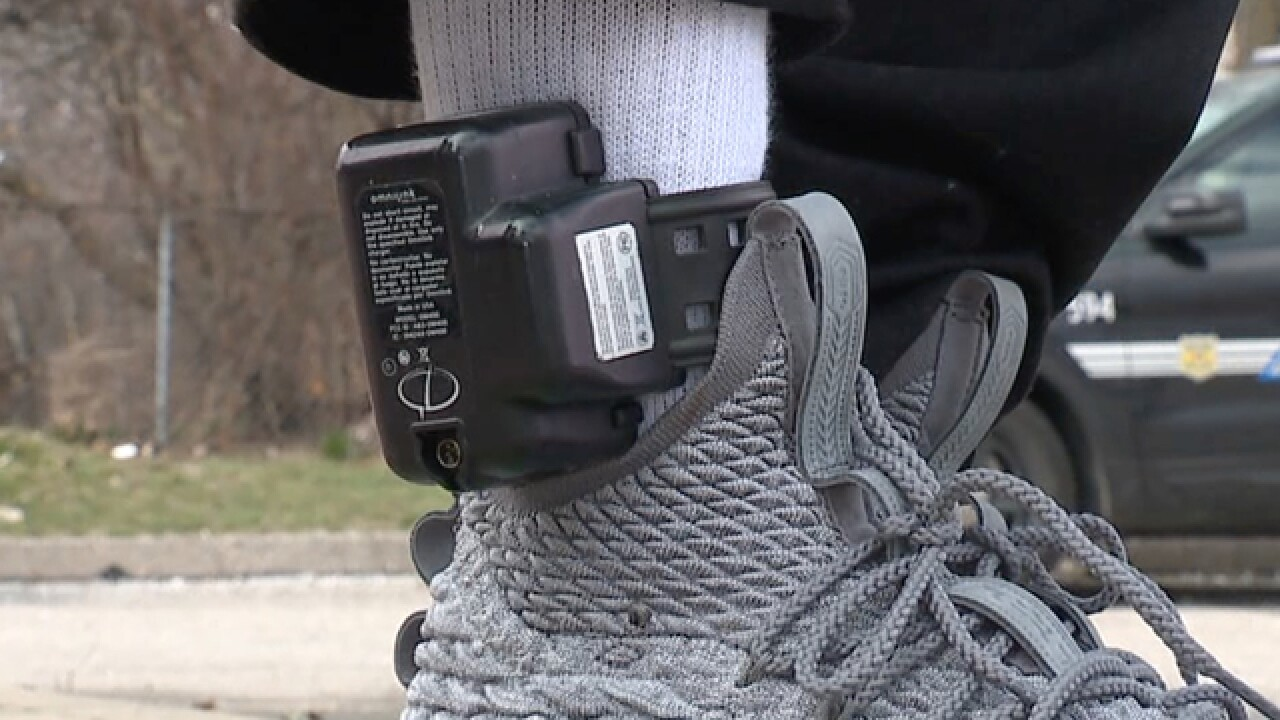 CLE man wrongfully convicted wears ankle monitor
