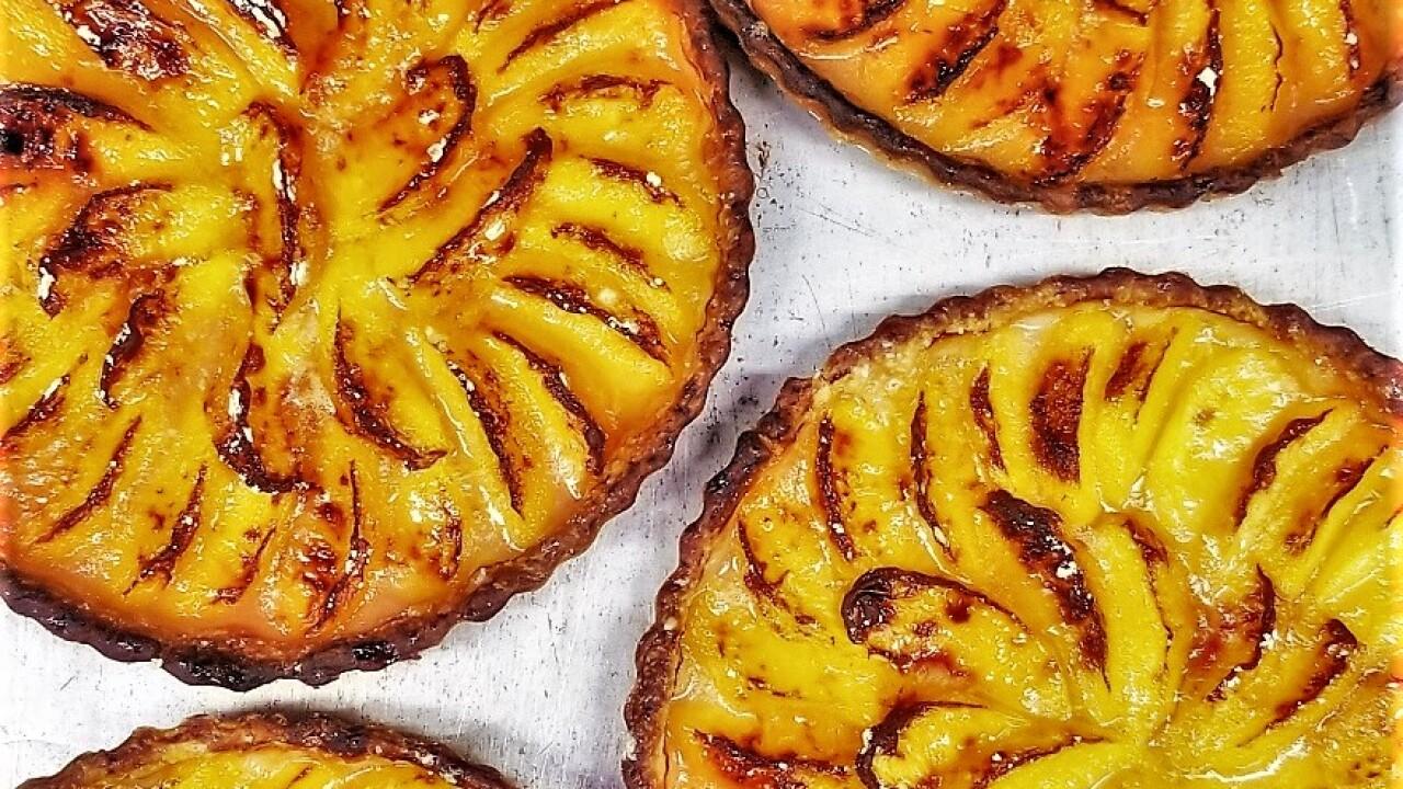 Peach tartes