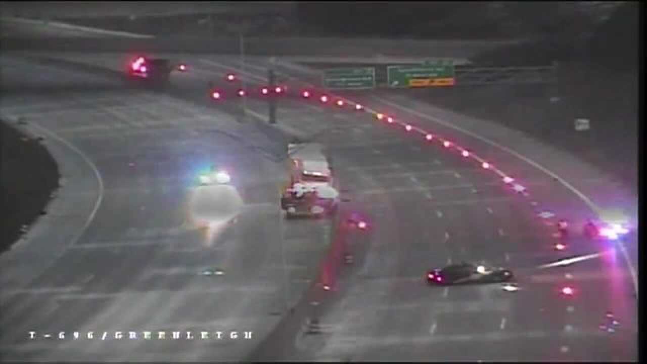 I-696 now open at Southfield Road after semi crashes into overpass