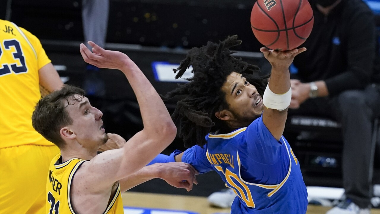 NCAA UCLA Michigan Basketball