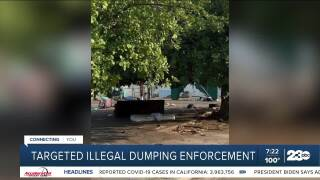 Illegal dumping July 27, 2021