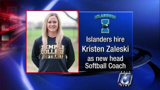 Kristen Zaleski hired as Islanders' new softball coach