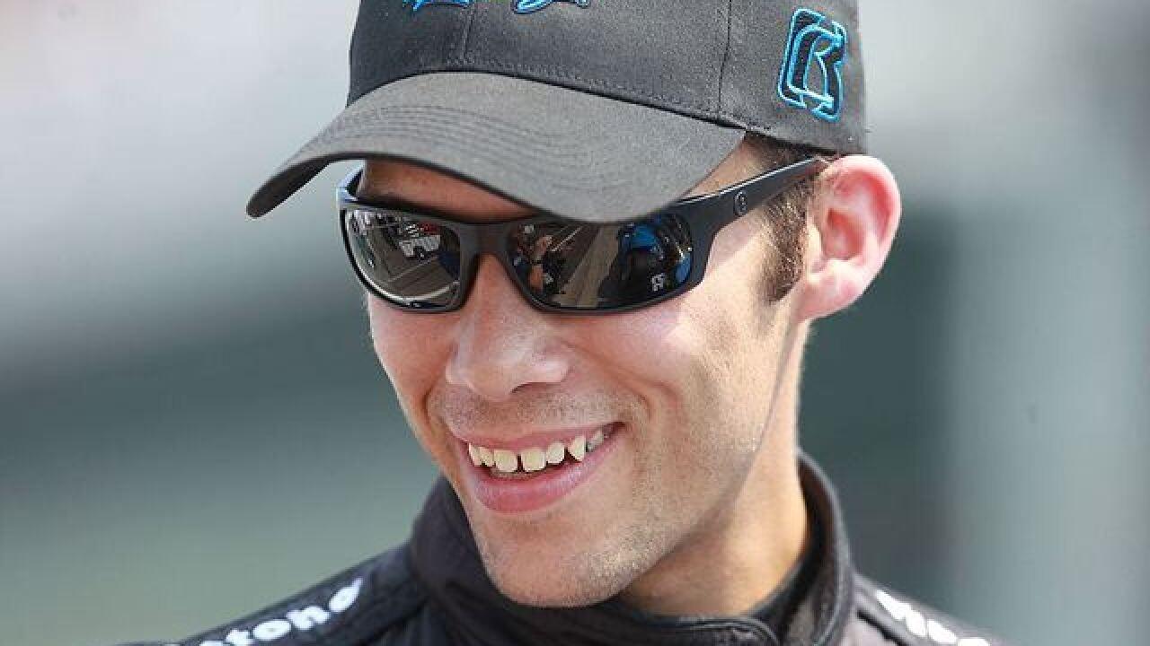 IndyCar driver dies after crash
