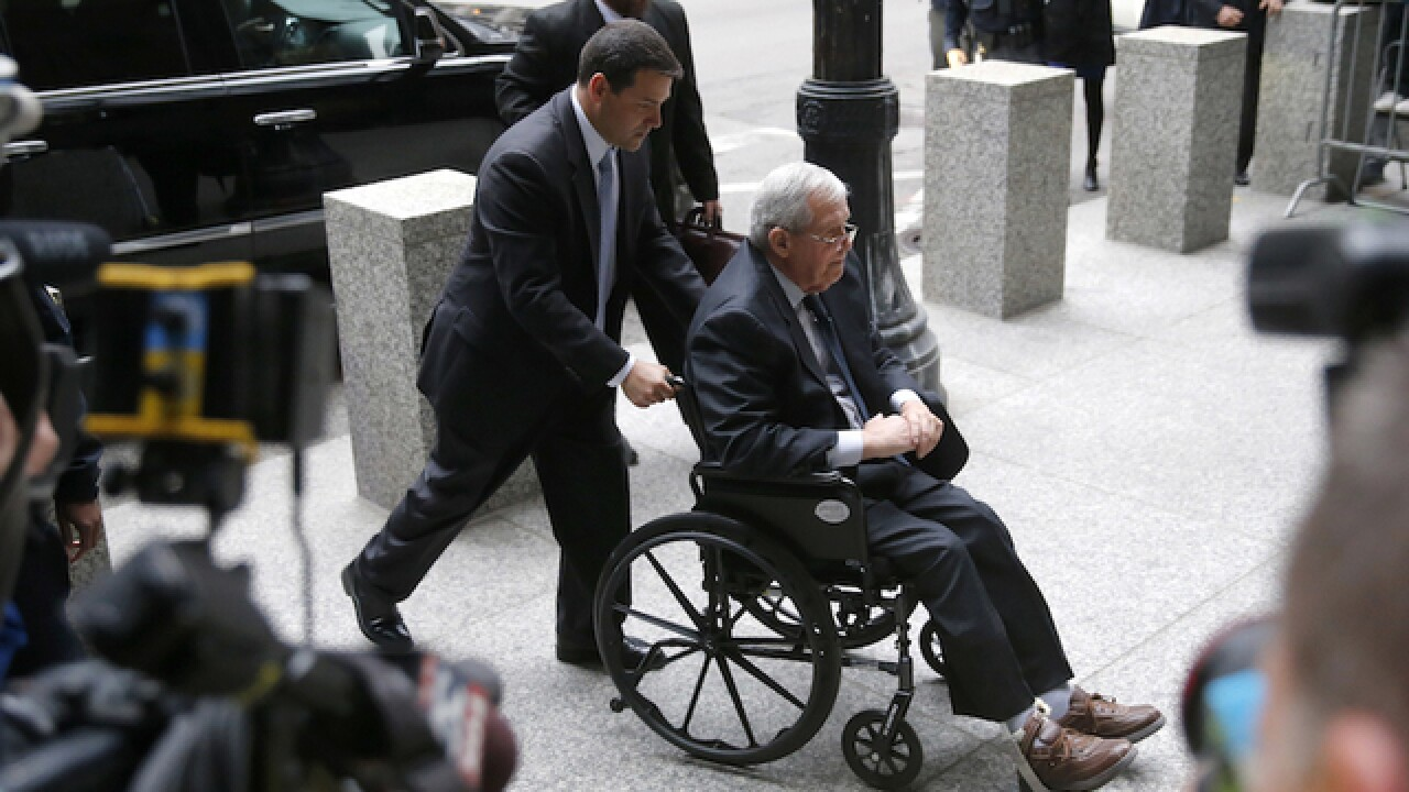 Former House speaker Hastert sentenced to more than a year in prison