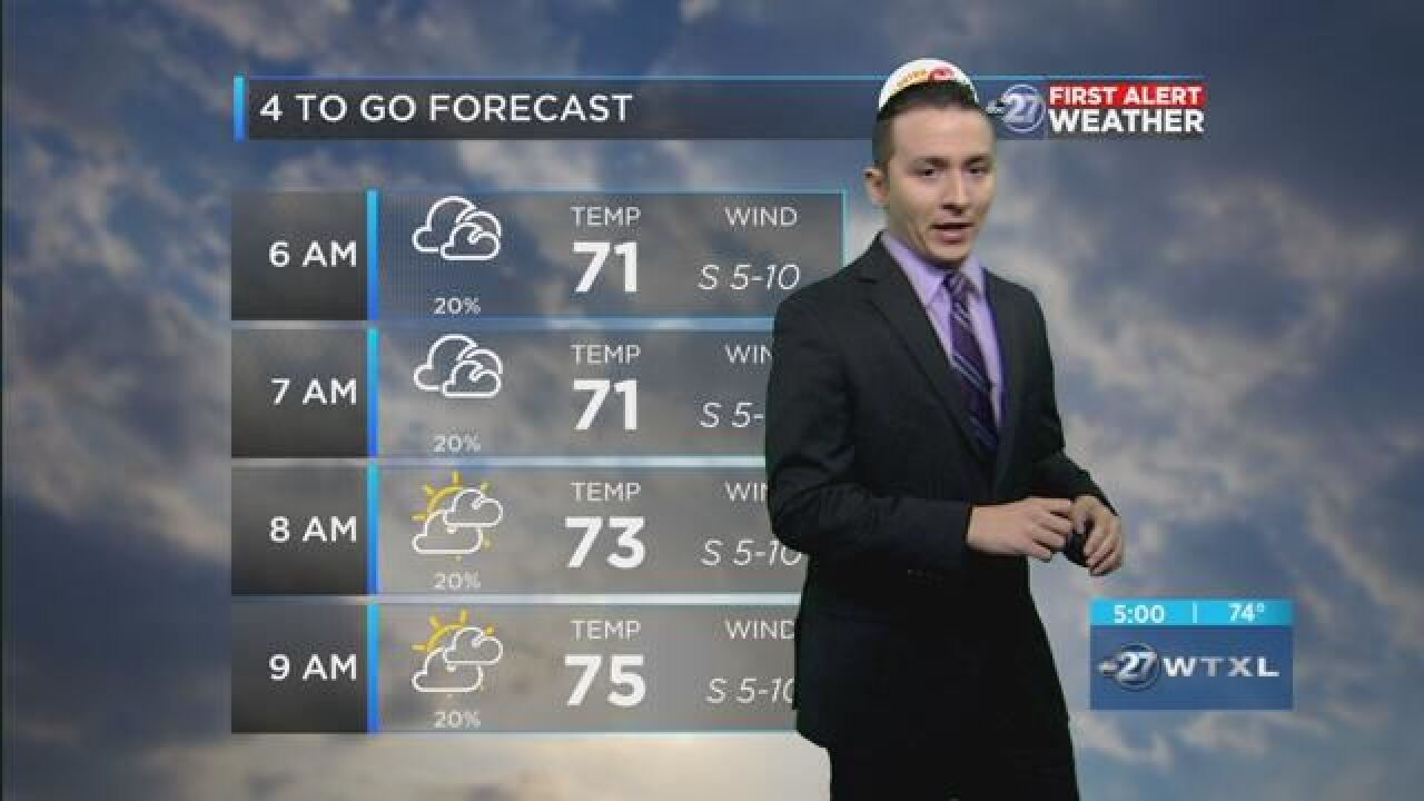 First Alert 4-to-Go Forecast: May 18, 2018