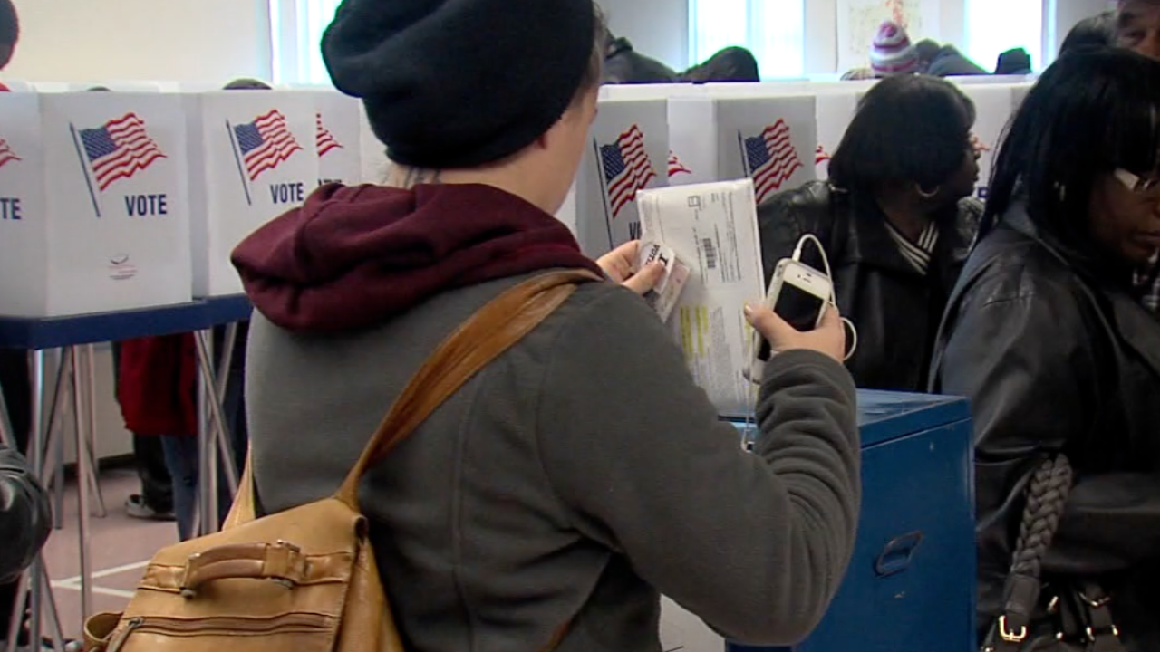 Ohio efforts to find more efficient voting process
