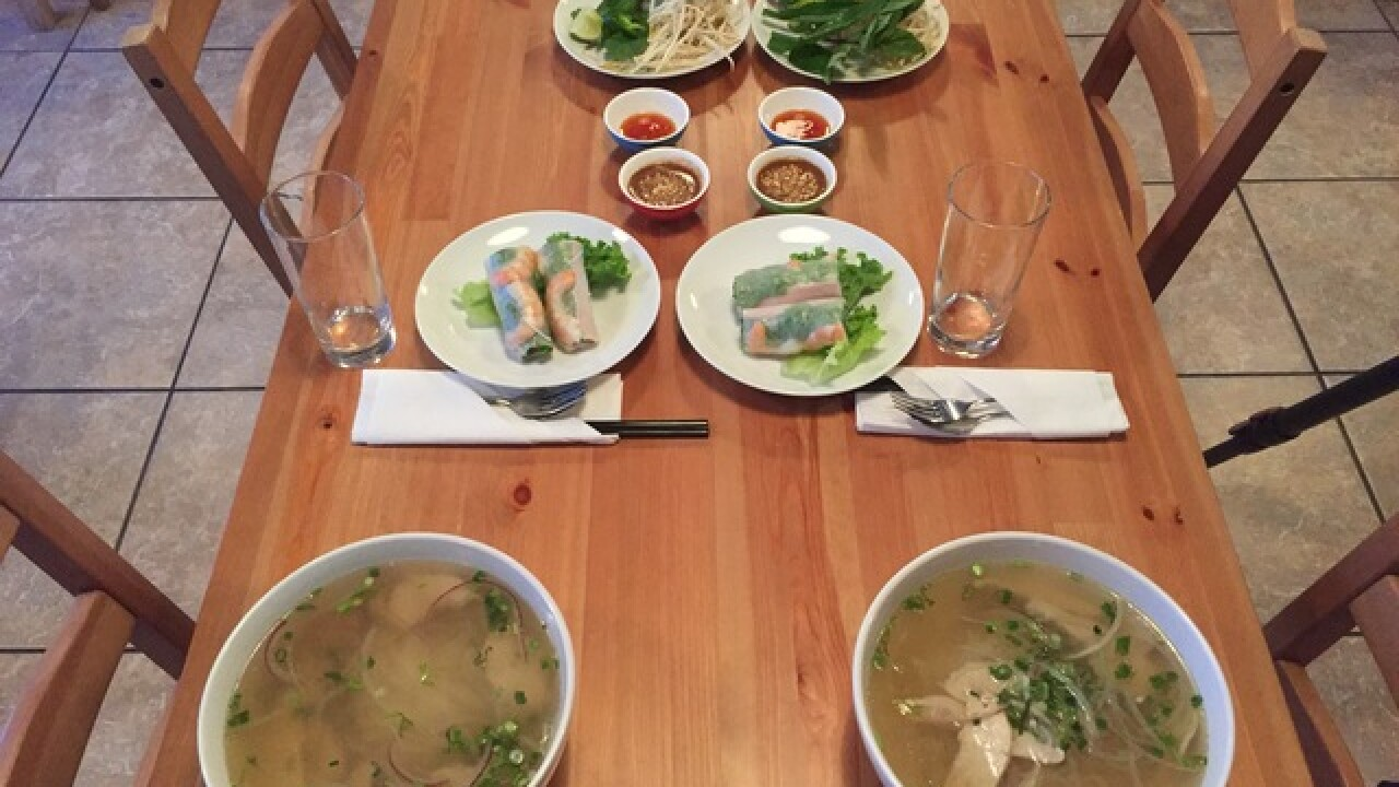 Pho is a family thing at new restaurant