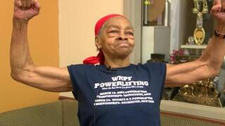 82-year-old body builder makes man pay for breaking into her house