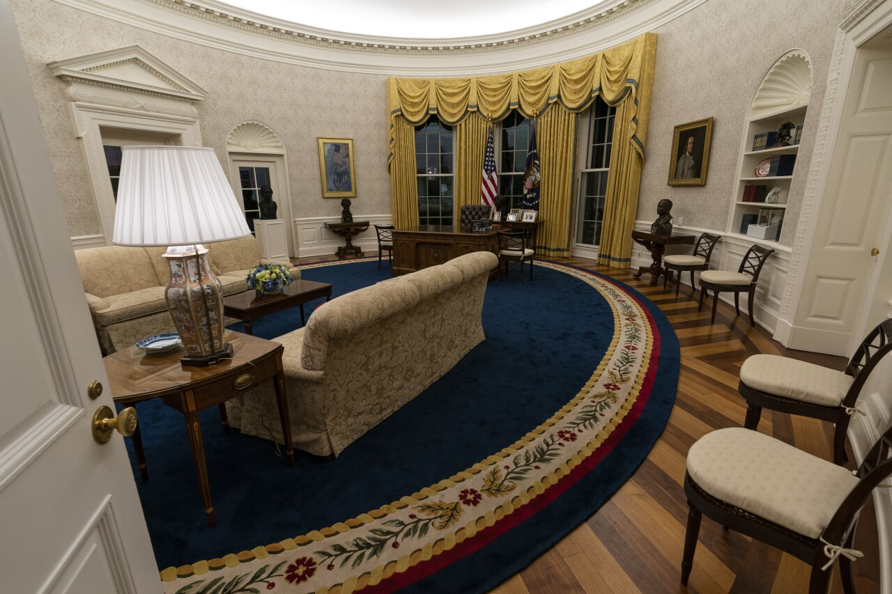 Biden White House Oval Office