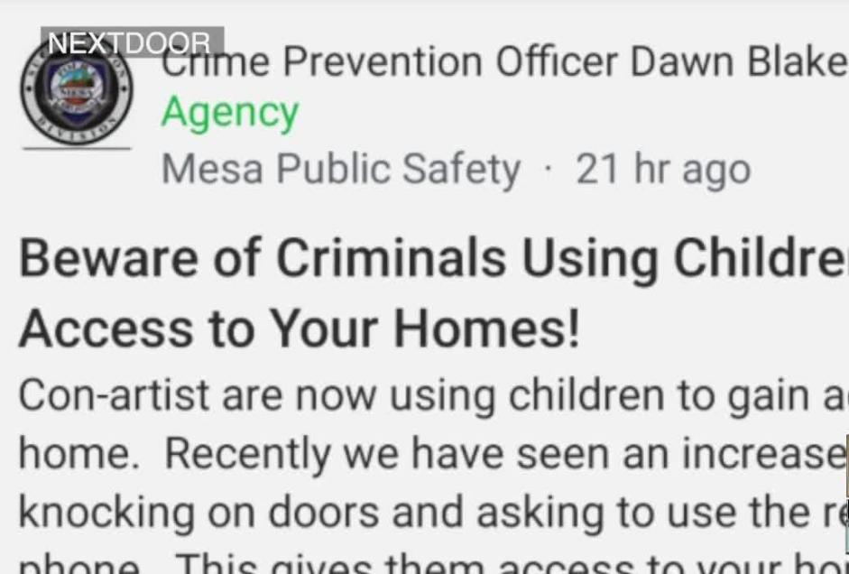 Mesa PD Officer social media post.PNG