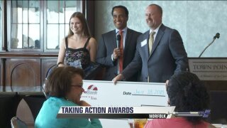 People taking action awards banquet honors 12 communityheroes