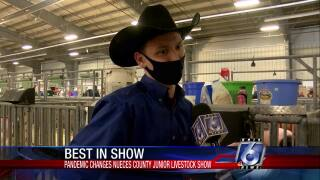 Keifer Gunn's final Nueces County Junior Livestock Show