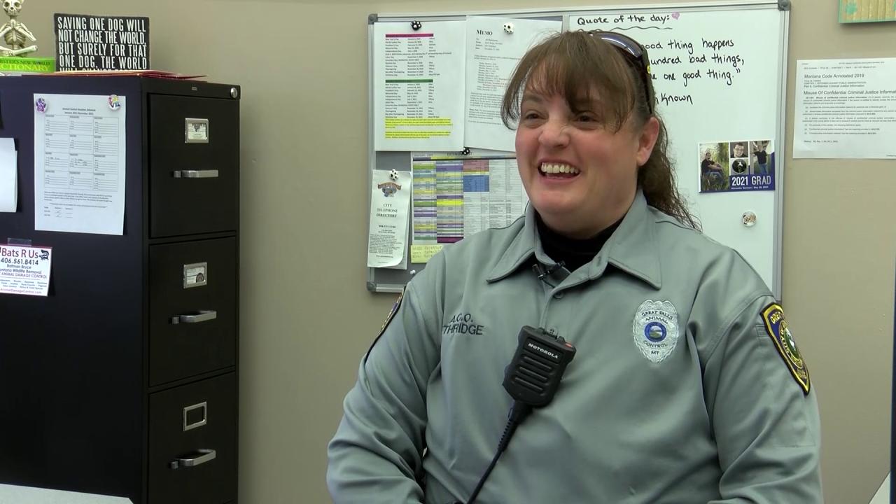 Alisa Ethridge, Great Falls Animal Control Officer