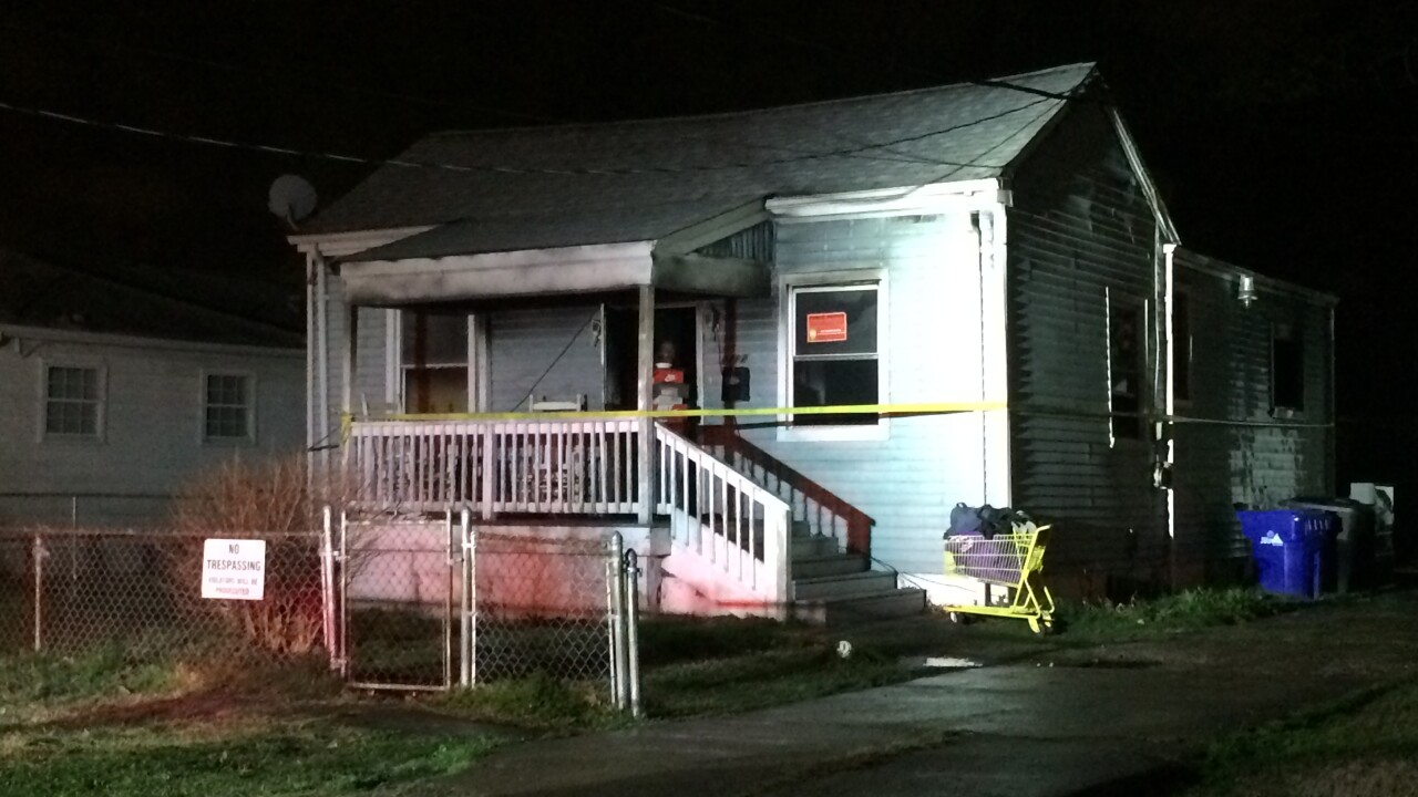Portsmouth firefighters rescue a man from burning home