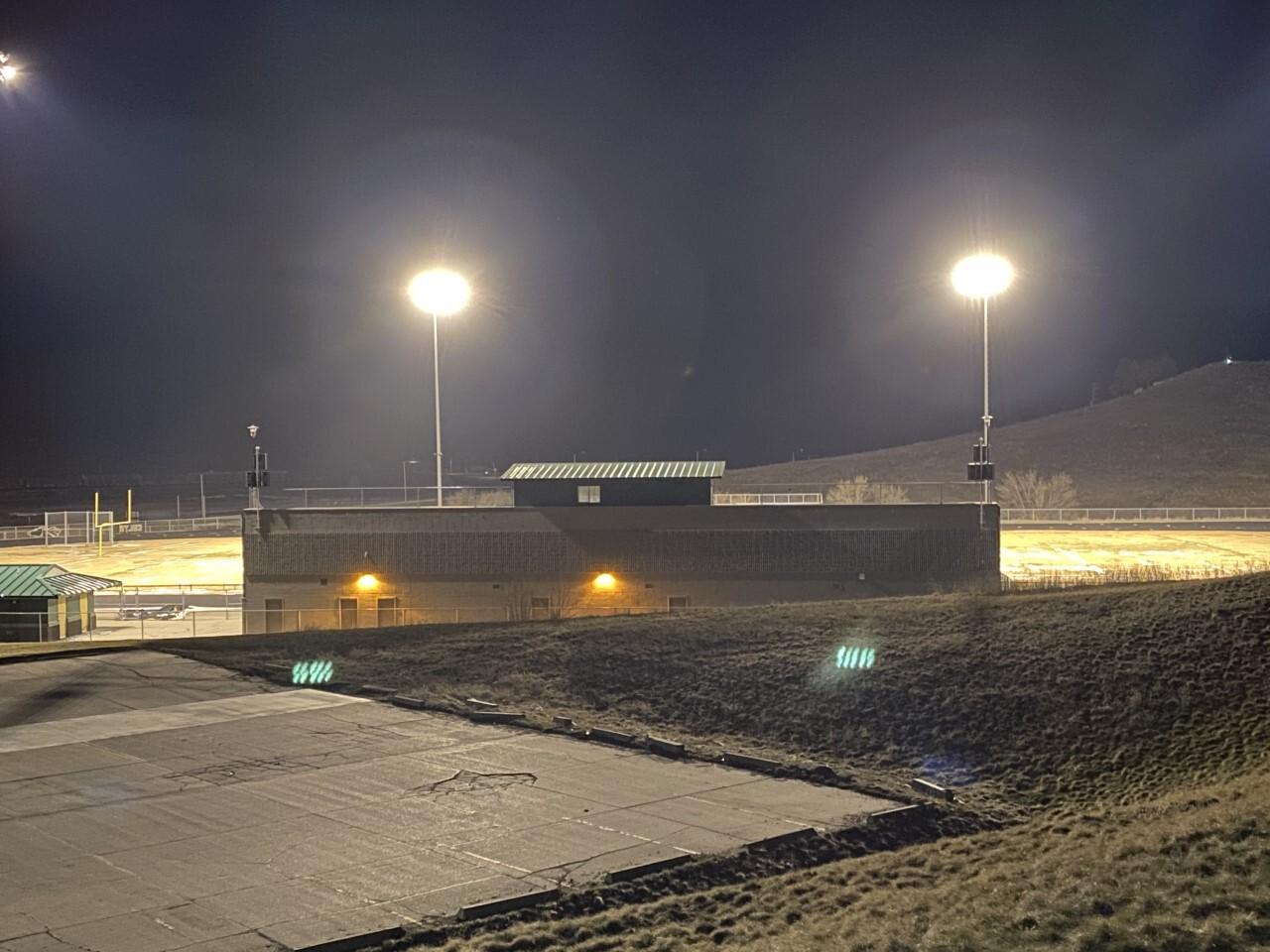 Colstrip football field