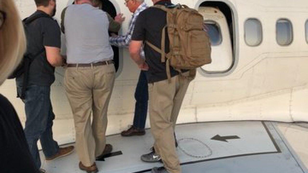 Delta flight evacuated upon landing in Denver