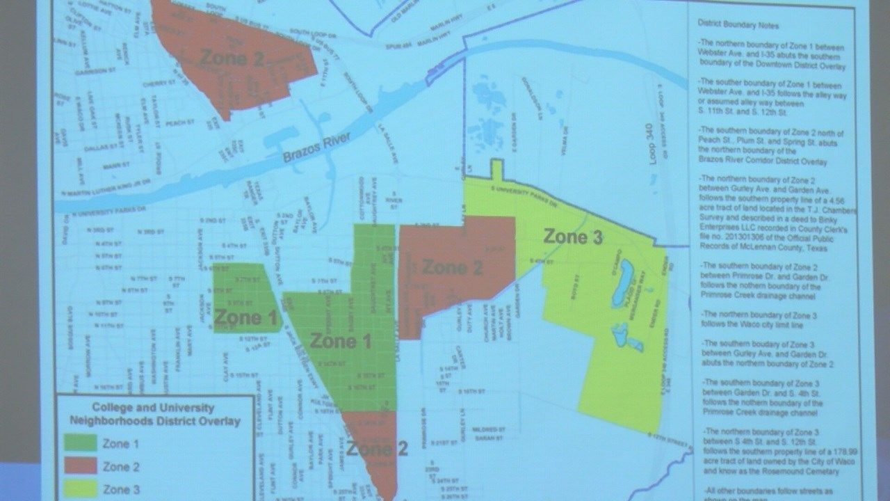 Mclennan Community College Campus Map.City Discusses Baylor S Request To Ban Short Term Rentals In