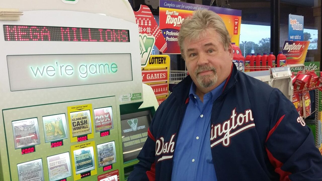 Update: Springfield man bought pair of pair of million-dollar winning tickets in Virginia Beach