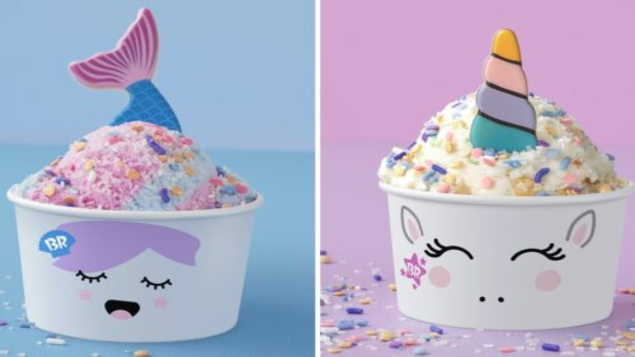 Baskin-Robbins Just Debuted New Ice Cream 'creature Creations'