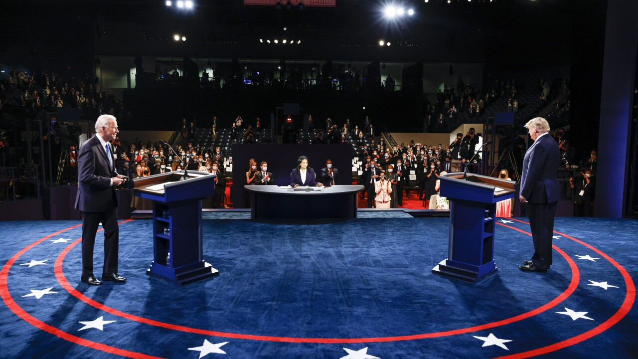 FACT CHECK: Examining claims from last Trump-Biden debate