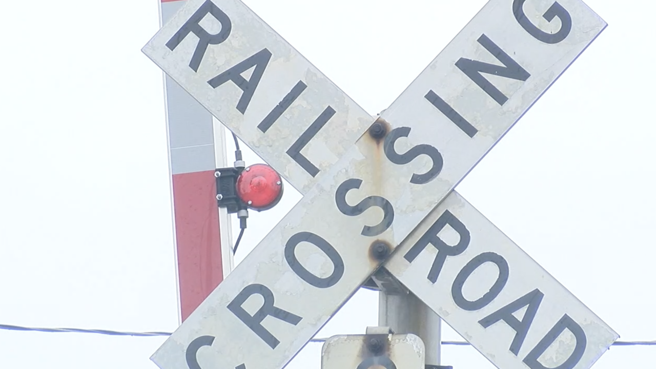 Railroad crossing Hamilton