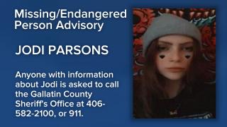 Missing/Endangered Person Advisory issued for Bozeman teen
