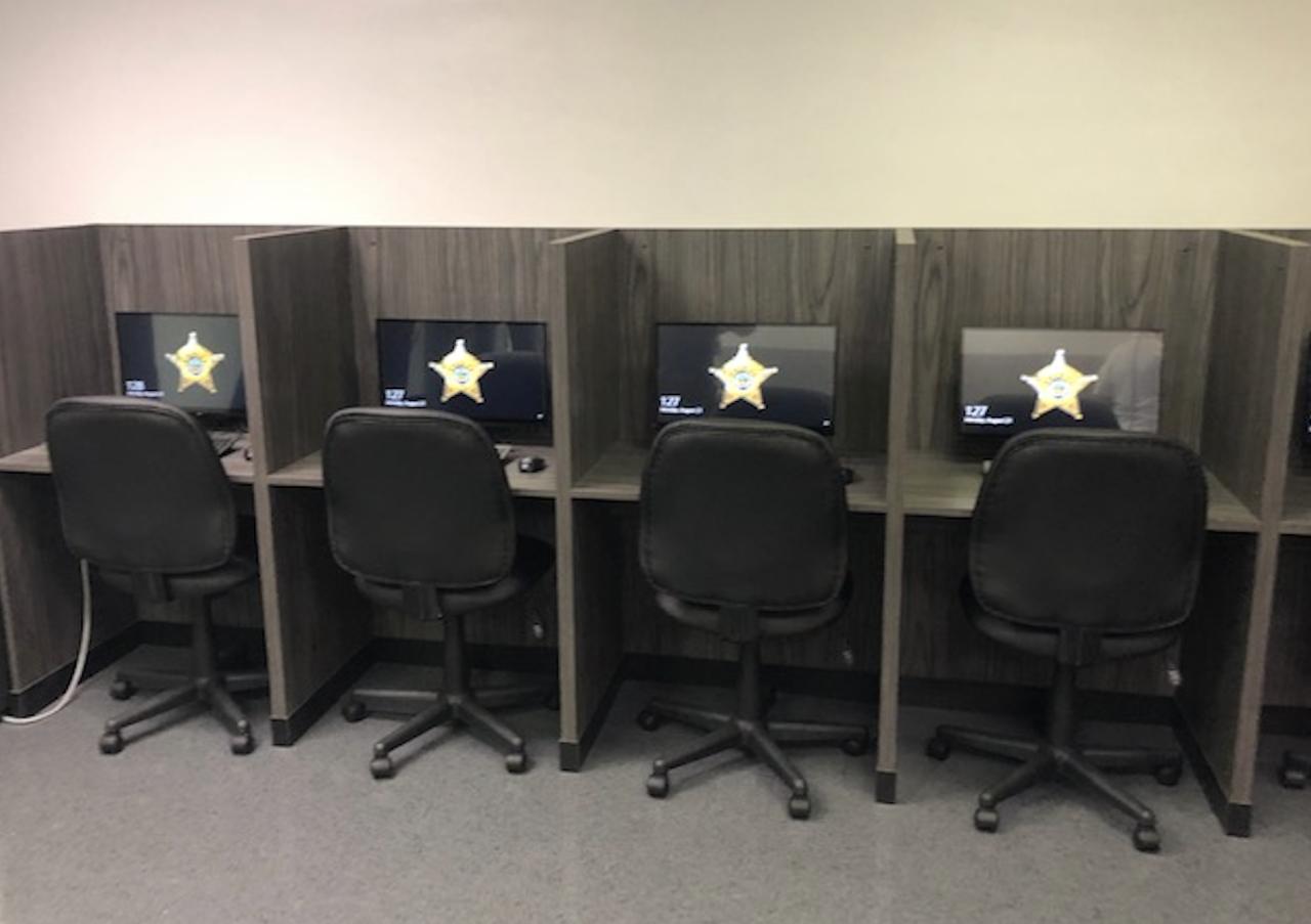 Stark County training facility classroom