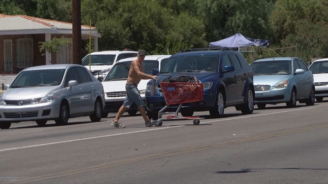 Pedestrian deaths surge in Tucson