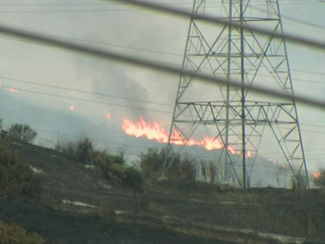PHOTOS: Cristianitos Fire near Camp Pendleton