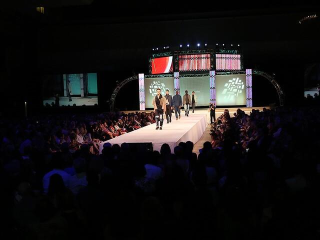 DAAP annual fashion show at the University of Cincinnati