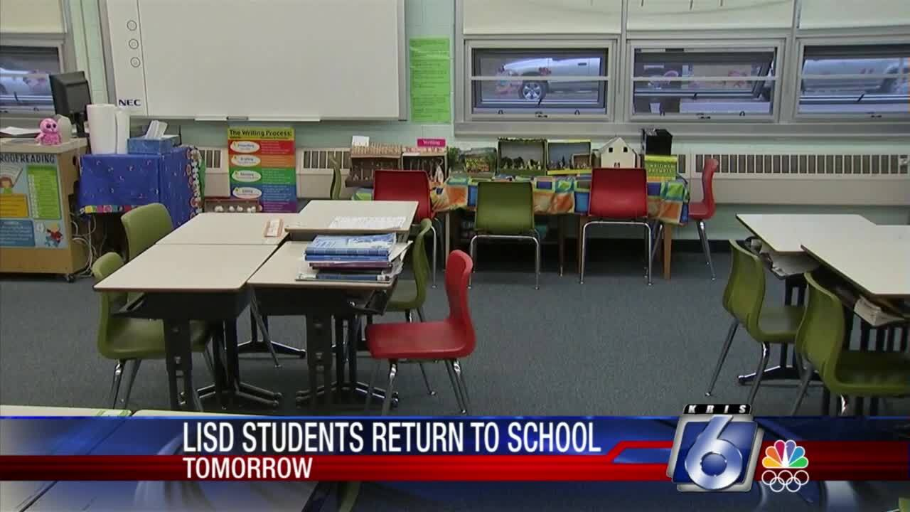London ISD will conduct its first day of classes on Wednesday