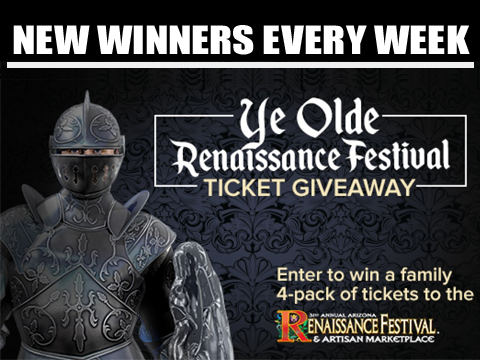 Enter to win tickets to the 32nd Annual Arizona Renaissance Festival!