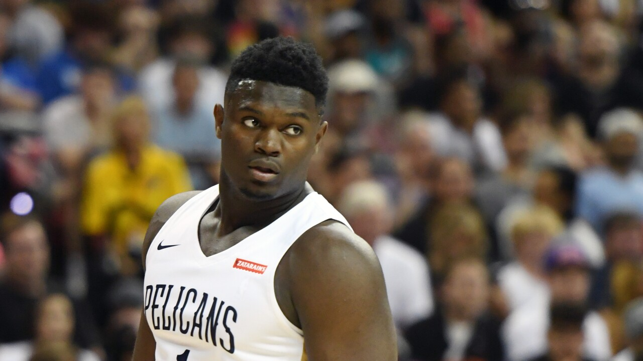 Zion_Williamson_New Orleans Pelicans v New York Knicks