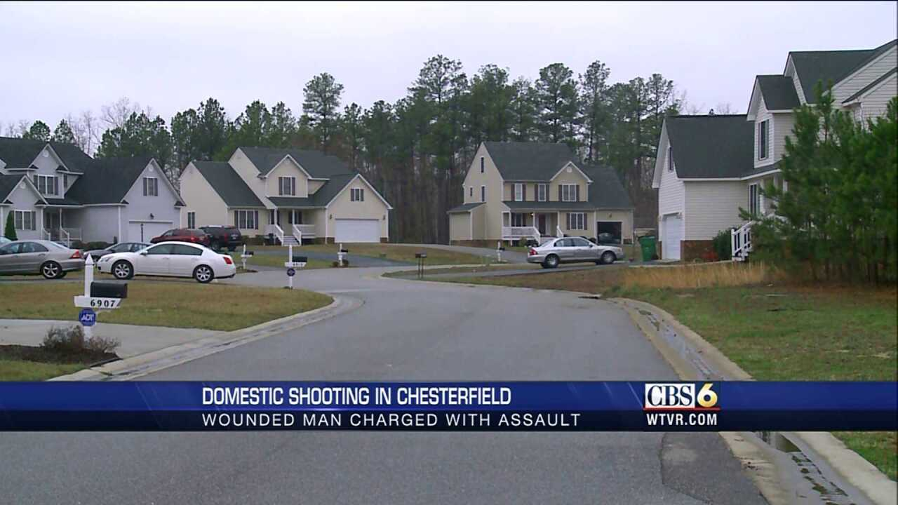 Witnesses: Man allegedly shot by wife screamed for help on neighbor's lawn