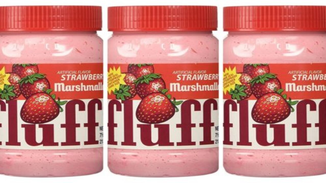 Marshmallow Fluff Comes In A Strawberry Flavor And You Can Buy It On Amazon