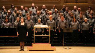 Great Falls College's choir