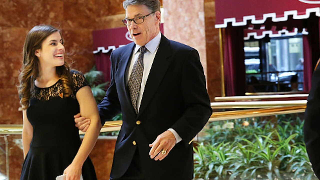 Scott Brown, Rick Perry among those meeting with Trump, vying to join his cabinet