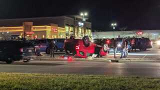 Violent incident at Woodland Mall