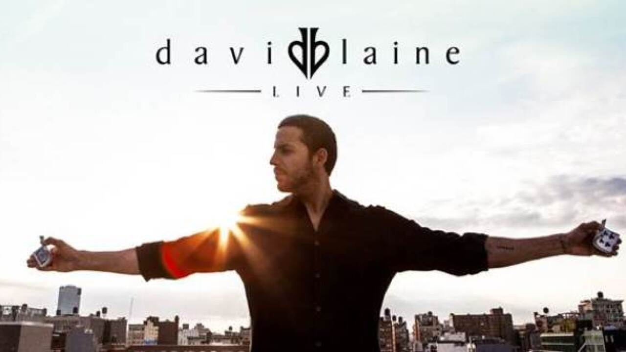 David Blaine to perform at Rabobank Theater