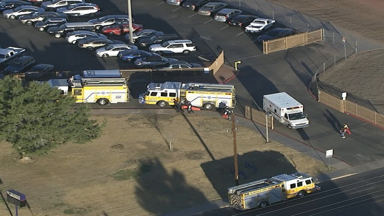 Police: 2 people shot at high school in Arizona