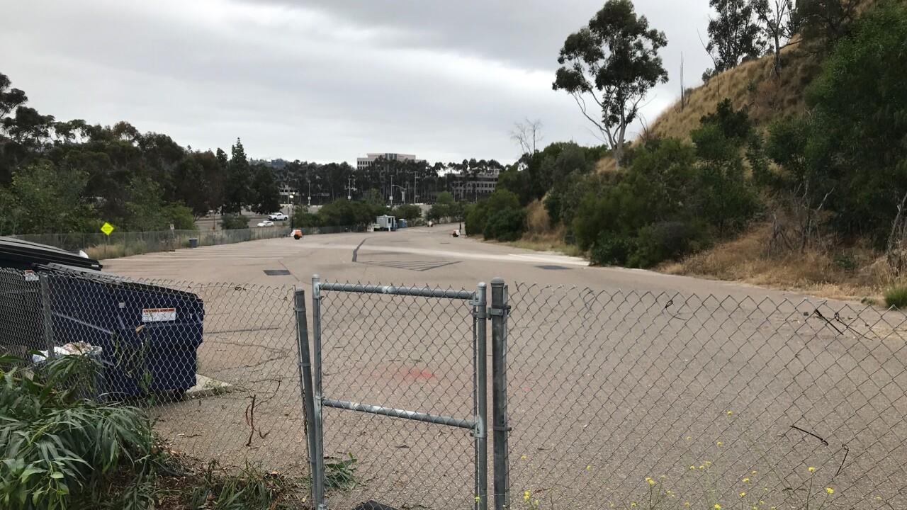 Safe parking lot in Mission Valley